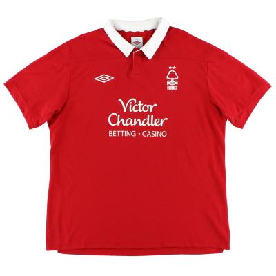 2011-12 Nottingham Forest Home Shirt XL