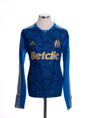2011-12 Olympique Marseille TechFit Away Shirt L/S *BNIB* XL
