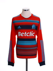 2011-12 Olympique Marseille Third Shirt L/S L