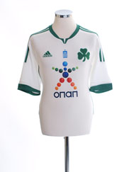2011-12 Panathinaikos Away Shirt *Mint* L