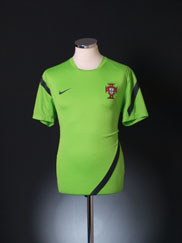 2011-12 Portugal Nike Training Shirt M