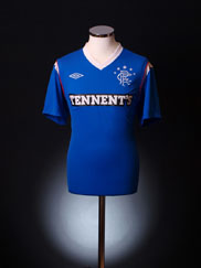 2011-12 Rangers Home Shirt *As new* L