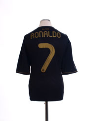 2011-12 Real Madrid Away Shirt Ronaldo #7 XL