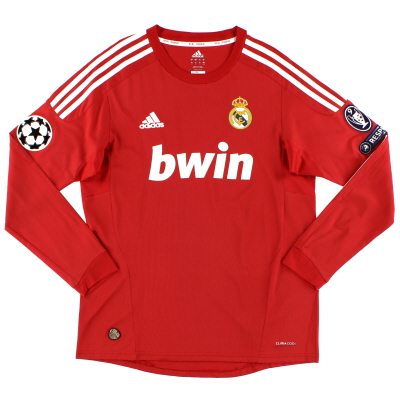 2011-12 Real Madrid Champions League Third Shirt L/S M
