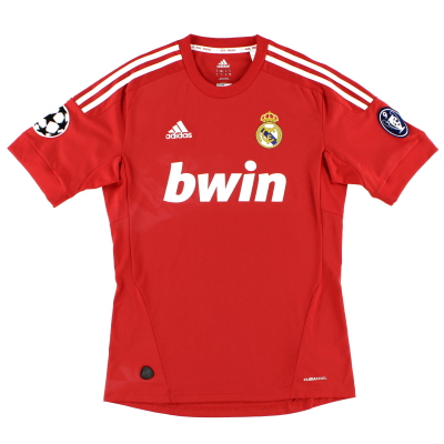 2011-12 Real Madrid Champions League Third Shirt S