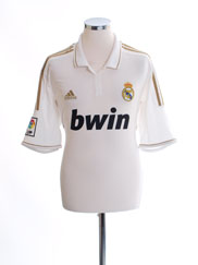 2011-12 Real Madrid Home Shirt L