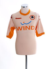 2010-11 Roma Away Shirt XXL