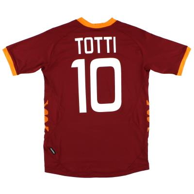 2011-12 Roma Home Shirt Totti #10 XL.Boys