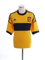 2011-12 Spain Goalkeeper Shirt *Mint* XL