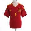 2011-12 Spain Home Shirt Torres #9 XL