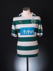 2011-12 Sporting Lisbon Home Shirt L