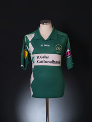 2011-12 St Gallen Home Shirt M