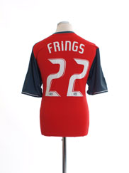 2011-12 Toronto FC Home Shirt Frings #22 *Mint* L