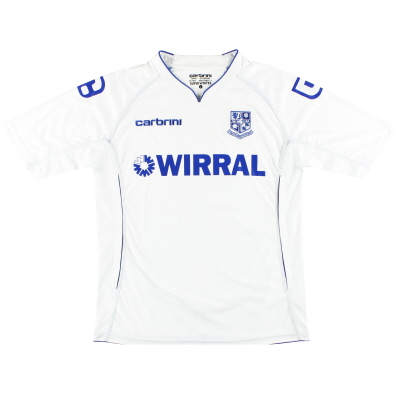 2011-12 Tranmere Rovers Home Shirt L