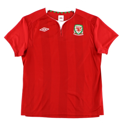 2011-12 Wales Home Shirt XL
