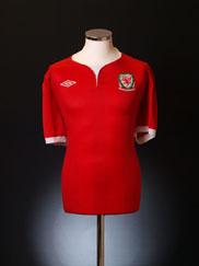2011-12 Wales Home Shirt XXL