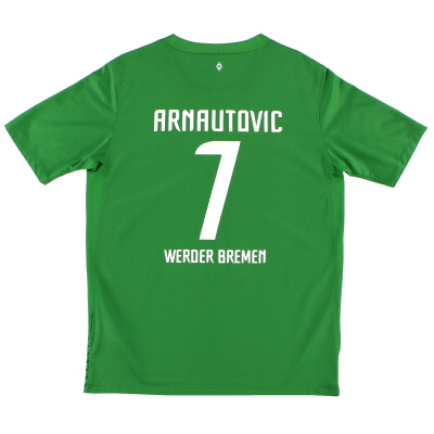 2011-12 Werder Bremen Home Shirt Arnautovic #7 XL.Boys
