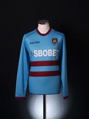 2011-12 West Ham Away Shirt *BNWT* L/S S