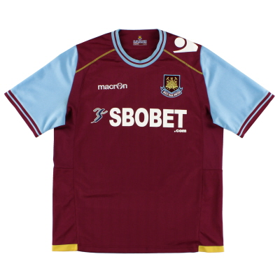 2011-12 West Ham Home Shirt L
