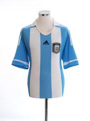 2011-13 Argentina Home Shirt L