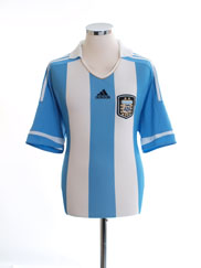 2011-13 Argentina Home Shirt *Mint* L