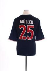 2011-13 Bayern Munich Away Shirt Muller #25 XL