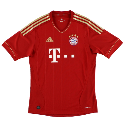 2011-13 Bayern Munich adidas Home Shirt S