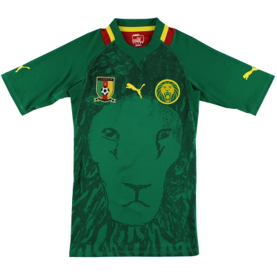 2011-13 Cameroon Puma Player Issue Home Shirt *As New* M