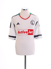 2011-13 Legia Warsaw Home Shirt *Mint* L