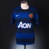 2011-12 Manchester United Away Shirt Evra #3 L