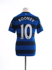 2011-13 Manchester United Away Shirt Rooney #10 XL.Boys