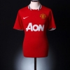 2011-13 Manchester United Home Shirt Champions #19 S