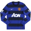 2011-13 Manchester United Nike Away Shirt L/S Nani #17 S