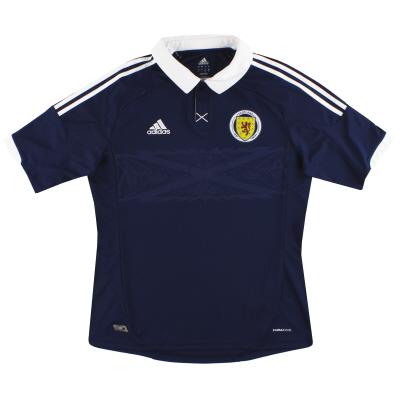 2011-13 Scotland adidas Home Shirt  L