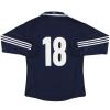 2011-13 Scotland adidas Player Issue Home Shirt #18 L/S L