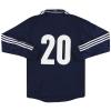 2011-13 Scotland adidas Player Issue Home Shirt #20 L/S L