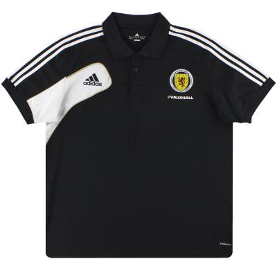2011-13 Scotland adidas Polo Shirt XXL