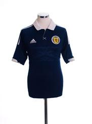 2011-13 Scotland Home Shirt S
