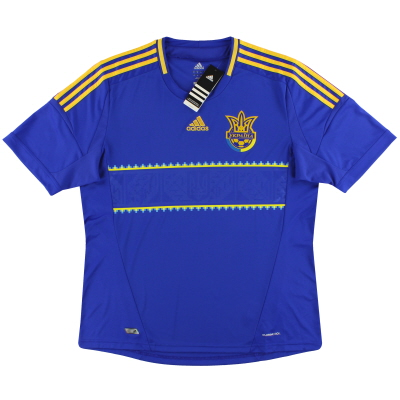2011-13 Ukraine adidas Away Shirt *w/tags* S