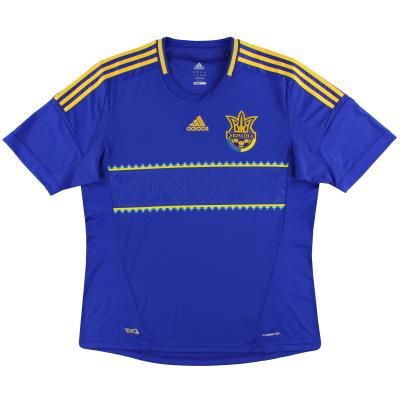 2011-13 Ukraine adidas Away Shirt *Mint* S