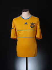 2011-13 Ukraine Home Shirt L
