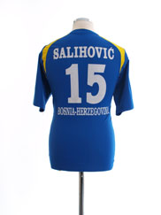 2011 Bosnia & Herzegovina Home Shirt Salihovic #15 L