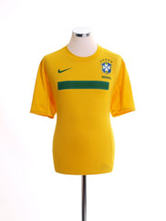 2011 Brazil Home Shirt *Mint* L