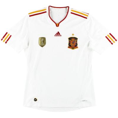2011 Spain adidas Away Shirt L