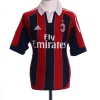 2012-13 AC Milan Home Shirt Balotelli #45 S
