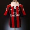 2012-13 AC Milan Home Shirt El Shaarawy #92 M