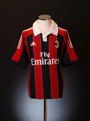 2012-13 AC Milan Home Shirt L.Boys