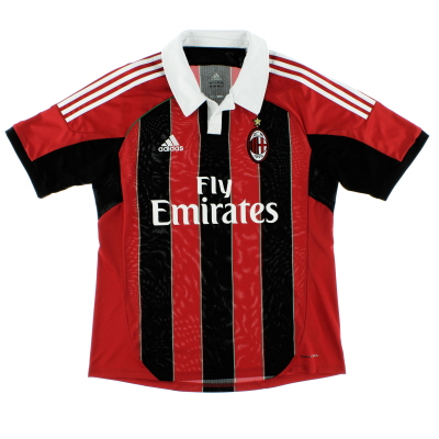 2012-13 AC Milan Home Shirt *Mint* L