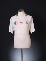 2012-13 Algeria Home Shirt *BNWT* XL