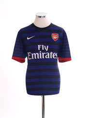 2012-13 Arsenal Away Shirt L.Boys